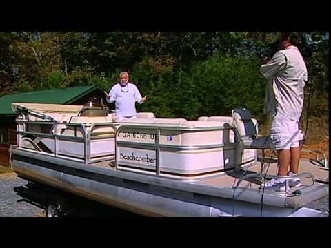 Sstv 19 20 Replacing Marine Carpet On A Pontoon Boat Youtube