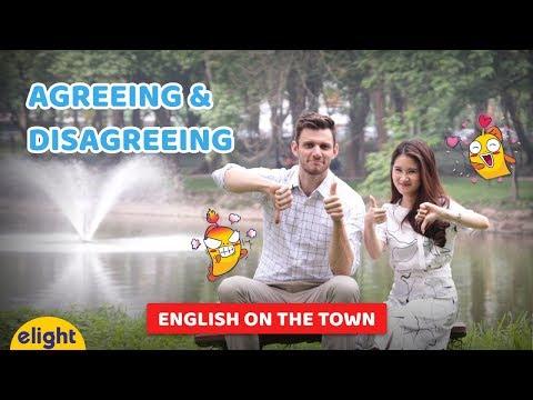 [Elight] Học tiếng Anh giao tiếp thông dụng: Cách bày tỏ ý kiến | English on the Town