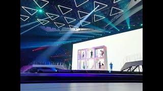 """Miki canta """"La venda""""  en su segundo ensayo de  Eurovisión 2019"""