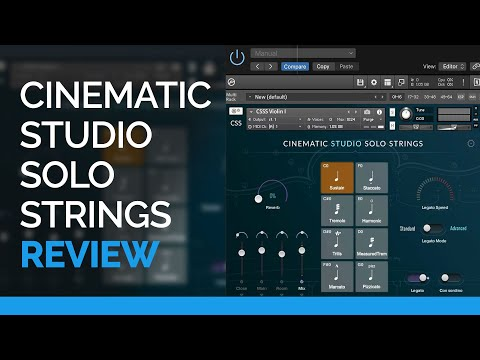 Cinematic Studio Solo Strings - Library Review