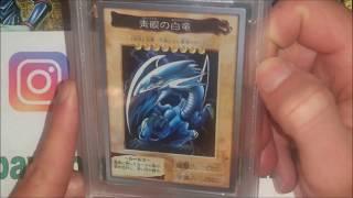 YugiohTube MailDay #1 Blue Eyes White Dragon BANDAI 1st Generation Super Rare Graded PSA 10 GEM MINT