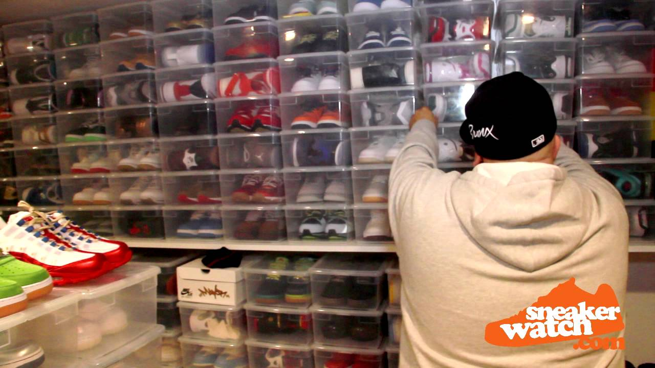 Mayor Walks Us Through His Sneaker Room SneakerWatch