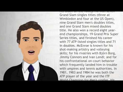 John McEnroe - Wiki Videos