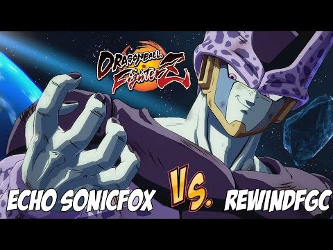 Echo Sonicfox(Cell/Gotenks/Kid Buu) fights against RewindFGC(A. Gohan/G. Black/16)[DBFZ](Pre-Patch)