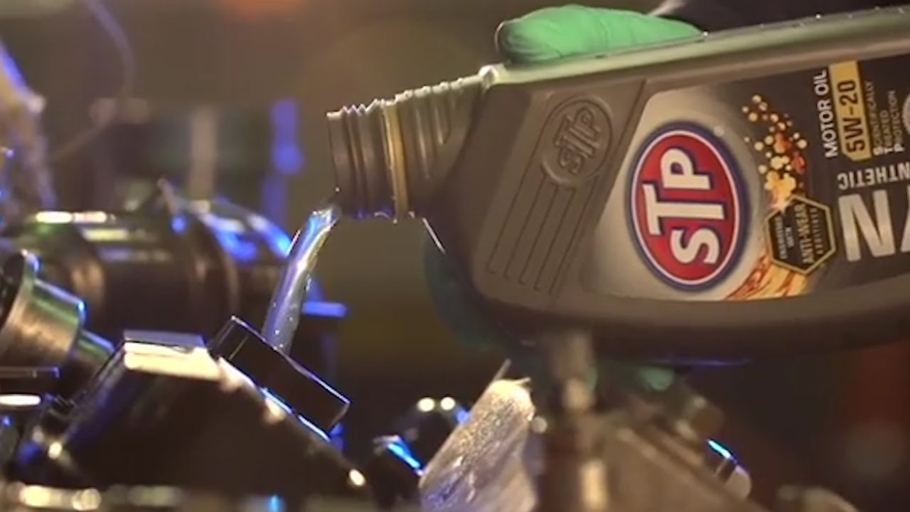 STP Synthetic Oil
