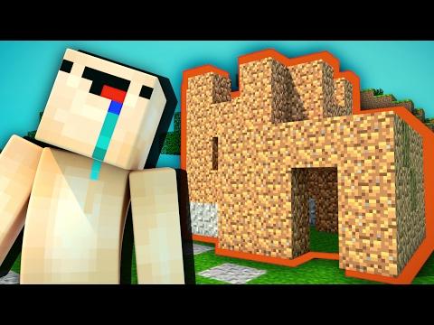 НУБ ПОСТРОИЛ ДОМ — Учим Нуба Играть В Майнкрафт #1 (Выживание Нуба В Minecraft) - Видео из Майнкрафт (Minecraft)