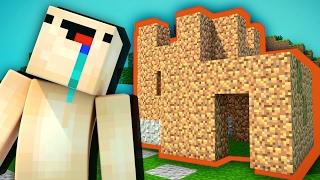 НУБ ПОСТРОИЛ ДОМ — Учим Нуба Играть В Майнкрафт #1 (Выживание Нуба В Minecraft)