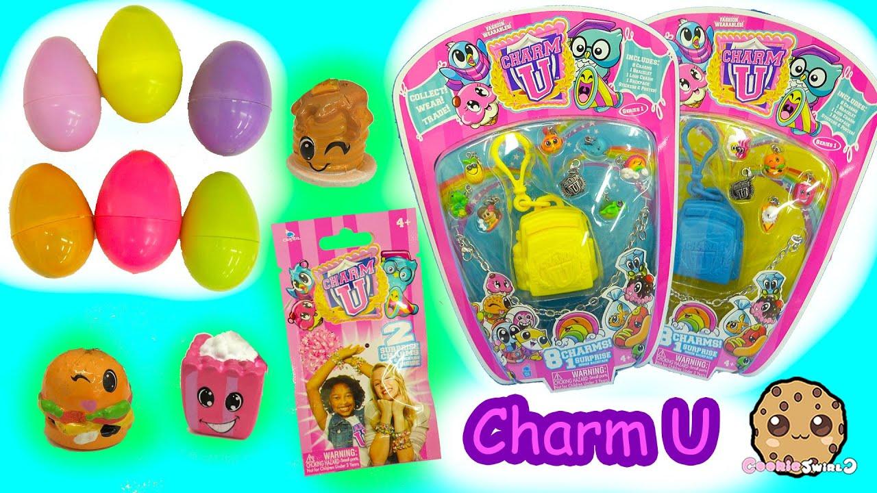 Charm U Charmbracelet 8 Pack With Mystery Backpacks