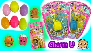 Charm U Charmbracelet 8 Pack With Mystery Backpacks + Surprise Eggs Blind Bags