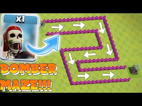 WALLBREAKER BASE RACE!!! | Clash of clans | BOMBER VS WB!!