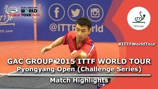 2015 Pyongyang Open Highlights: Choe II vs PAK (FINAL)