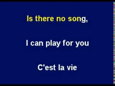 C'est La Vie by Greg Lake - Karaoke Version by Allen Clewell