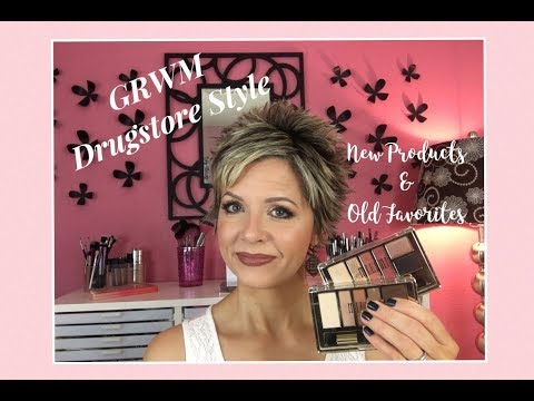 Get Ready With Me Drugstore Style - New Products & Old Favorites