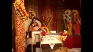 shyam deewana hai radha rani ka,  by guru maa at Ambala cantt -today