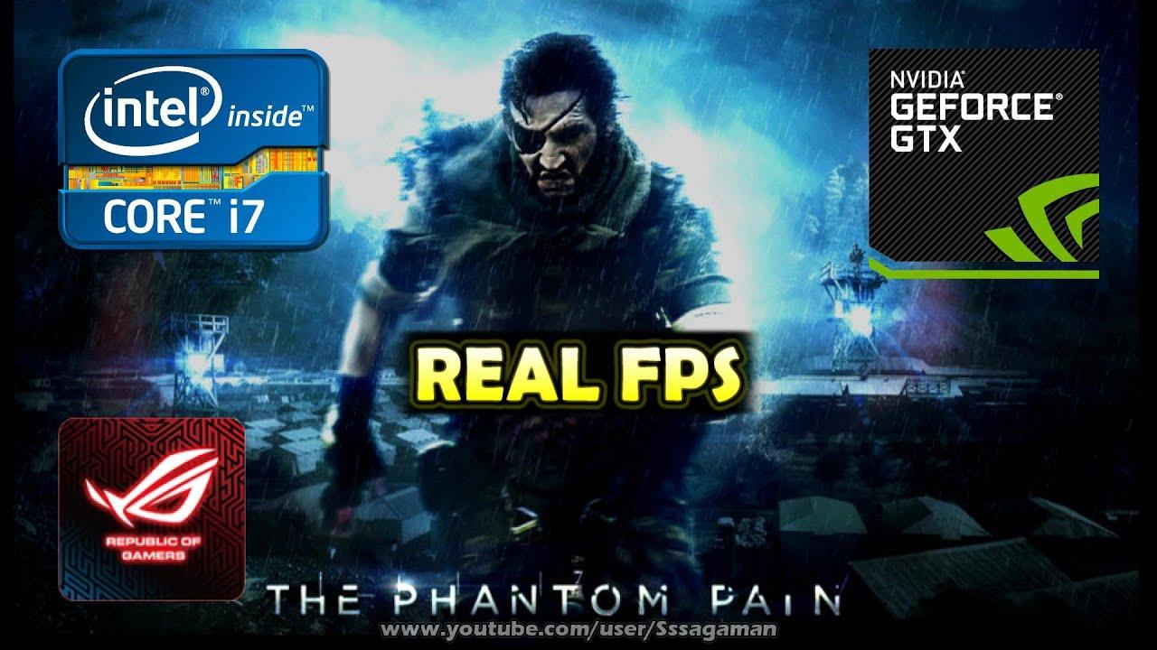 Asus ROG: GTX 960M - i7 4720HQ | Gaming test #1: MGS V/5: The Phantom Pain