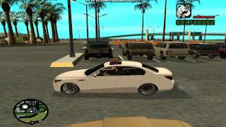 GTA SAN ANDREAS BMW M5 E60