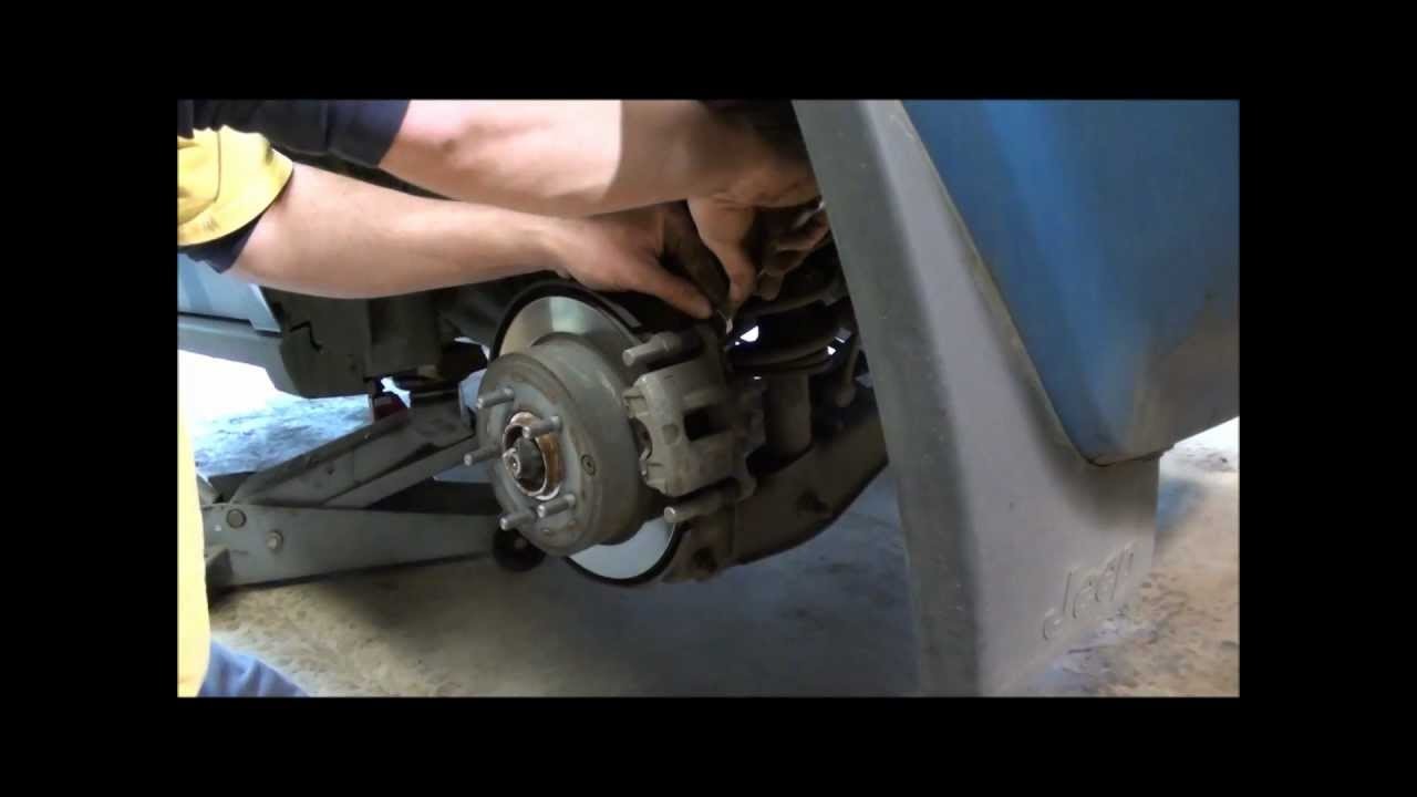 Jeep Patriot Rear Brakes Youtube