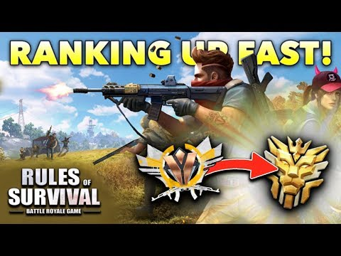 🔴 LIVE - Rules of Survival! (Rank Up FAST Bronze to Grandmaster)