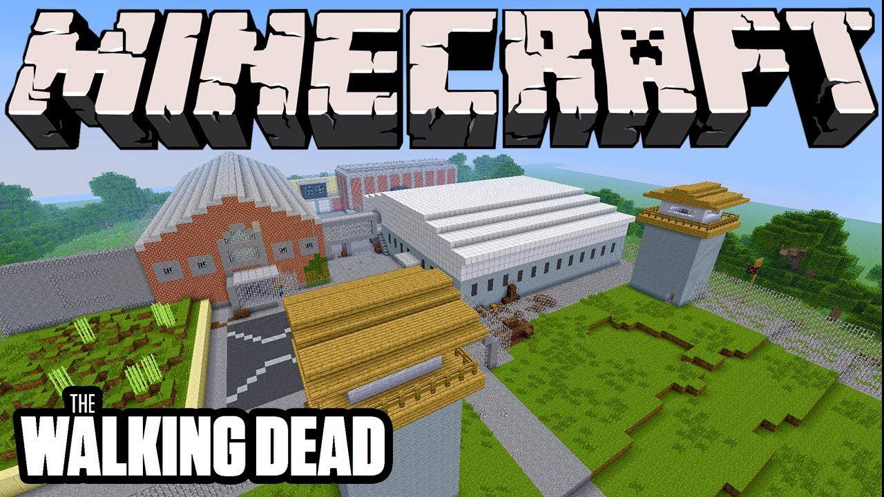 карта майнкрафт the walking dead #10