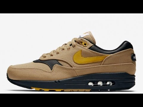 info for 71e39 548b6 NIKE AIR MAX 1 CANVAS ELEMENTAL GOLD REVIEW AND RELEASE DETAILS !