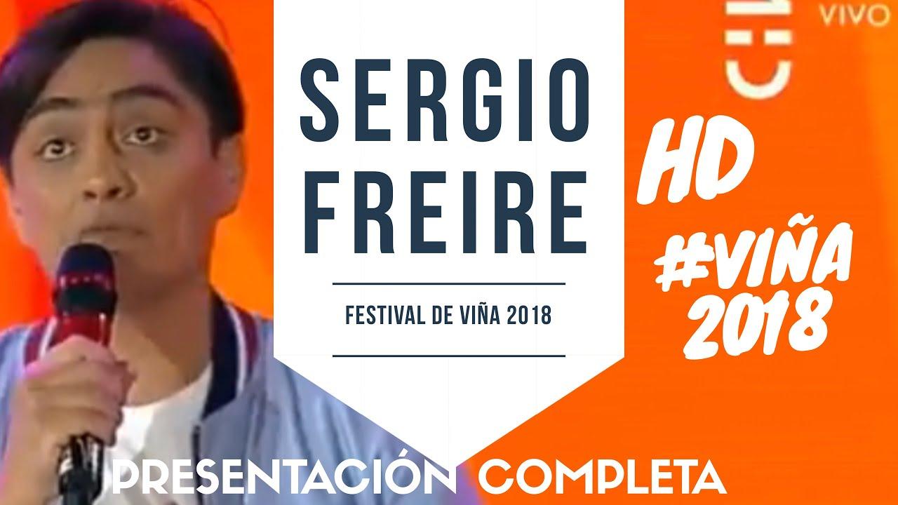 SERGIO FREIRE triunfa en #VIÑA2018 - Festival de Viña del Mar 2018 - Presentación Completa HD