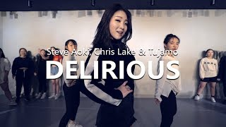 Steve Aoki Chris Lake Tujamo Feat Kid Ink Delirious Boneless Choreography WENDY
