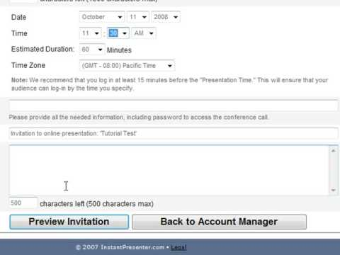 InstantPresenter - How to Broadcast your Camera from YouTube · Duration:  2 minutes
