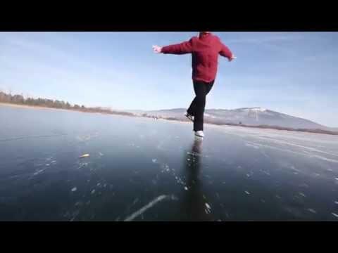 Cerkniško jezero drsanje