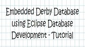 derby db eclipse plugin - download, install, and test run