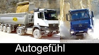 Mercedes Arocs HAD heavy-duty dump trucks 6x6 / 8x8 - Daimler Trucks - Autogefühl