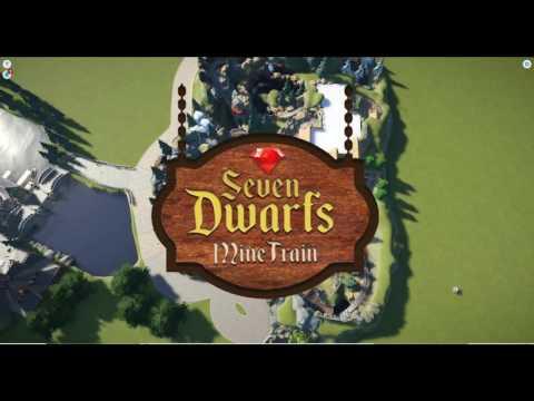 Planet Coaster: Seven Dwarfs Mine Train