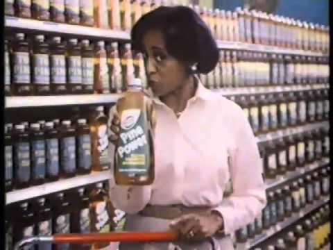 Marla Gibbs 1981 Pine Power Cleaner Commercial