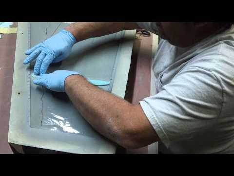 how to layup a composite wing for a F-18 #1