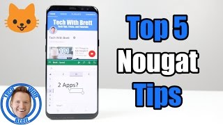 Top 5 Tricks on Android Nougat | Galaxy S8 Hidden Features