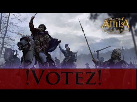 [Total War: ATTILA – The Last Roman FR]  !Vote de Faction! |