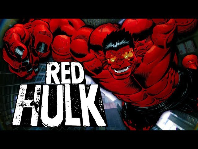 THUNDERBOLT ROSS : L'IMPITOYABLE RED HULK !