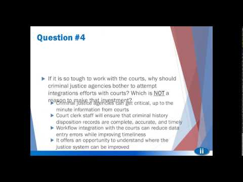 The Role of Courts in Criminal Justice Information Systems CJIS (Jan2015)