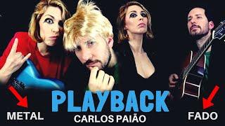 Baixar PLAYBACK - Carlos Paião (versão metal com fado à mistura)