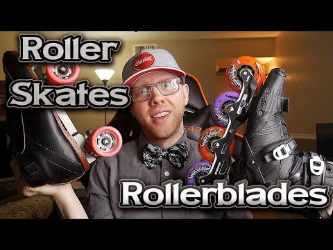 Should I Buy Quad Skates Or Inlines? (Roller Skates Vs Rollerblades For Beginners)