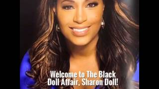 Sharon Reed of CBS 46 Becomes a Black Doll