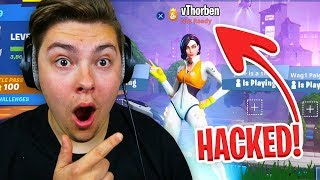 Ik HACKTE vThorben zijn account in Fortnite!