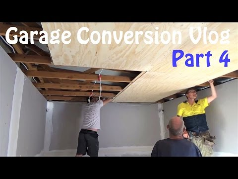 Converting my garage into a YouTube Studio Part 4 Vlog