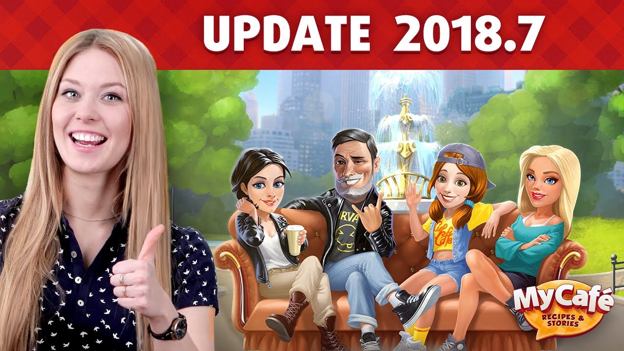 Video - My Cafe Update 2018 7 Announcement Diego, and New Season