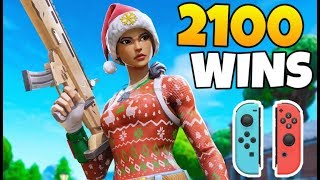 Pro Nintendo Switch Player | 2000+ Wins on Controller | Fortnite Battle Royale