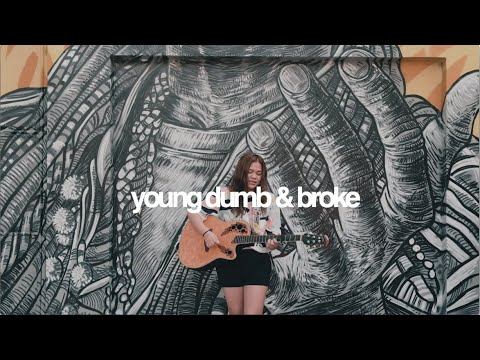 Young Dumb & Broke - Khalid (cover) | Reneé Dominique