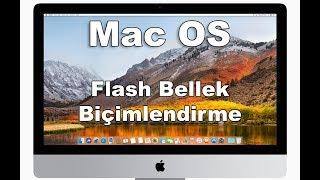 Mac flash biçimlendirme nasıl yapılır