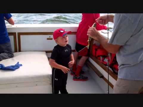 Fishing with capt al makes me do the happy dance youtube for Capt al fishing report