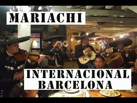 Mariachi Internacional Barcelona restaurante Pendejo Sabadell mariachis en Barcelona tel 622-618-495