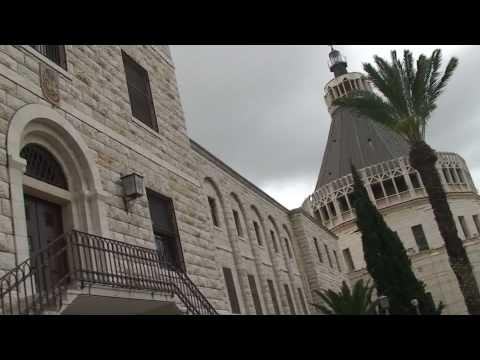 Israel Nazareth Church Of The Annunciation HD Part 1