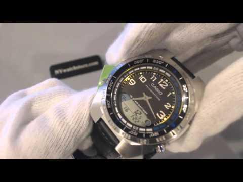Casio Pathfinder Fishing Timer, Moon Phase Data Watch AMW700B 1AV